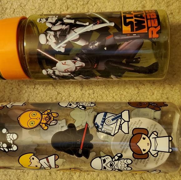 Star Wars reusable water bottles